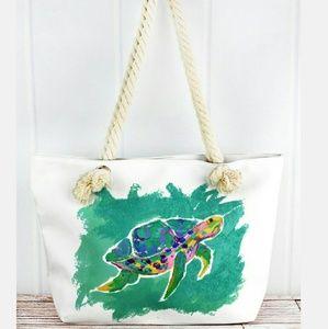 Handbags - New Large Turtle Tote Bag!